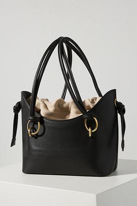 Sondra Roberts Willa Drawstring Tote Bag By in Black Size ALL