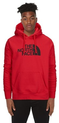 The North Face Half Dome Hoodie Sweatshirt - Tnf Red / Black