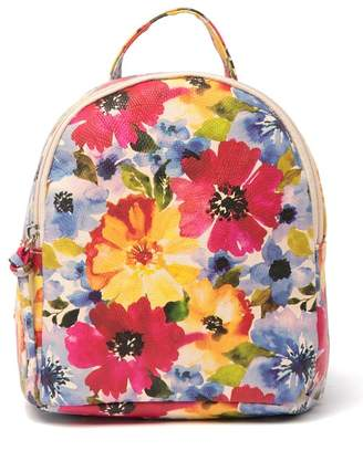 T-Shirt & Jeans Mikey Watercolor Flower Mini Backpack