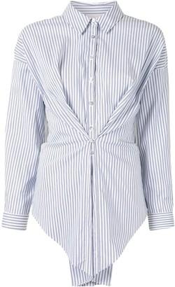 Cinq à Sept Striped Knot Shirt