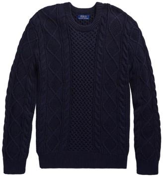 Polo Ralph Lauren Aran Crewneck Sweater