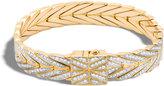 John Hardy Modern Chain Bracelet with Diamonds