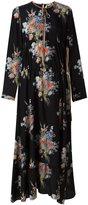 No.21 floral print maxi dress - women - Silk - 42