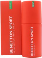 Benetton Sport Woman By Benetton, Edt Spray, 3.3 Oz