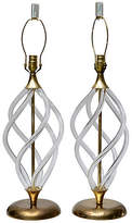 One Kings Lane Vintage,  Clear/gold, In Stock