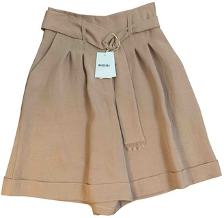 Nanushka Pink Cloth Shorts for Women