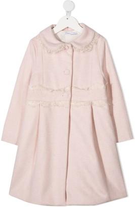 Patachou Lace Trim Coat