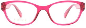 Gucci Rectangle Frame Glasses