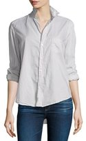 Frank And Eileen Eileen Button-Front Shirt, Stone