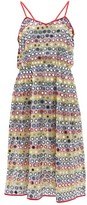 Ashish Mirror-applique Skinny-strap Dress - Womens - White Multi