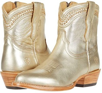 Ariat Legacy R Toe (Metallic Gold) Cowboy Boots