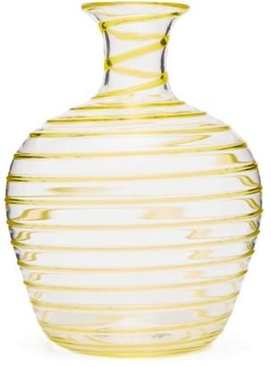 Yali Glass - A Filo Large Glass Carafe - Yellow