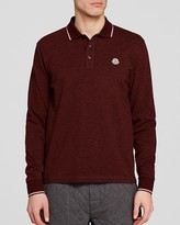 Moncler Maglia Long Sleeve Polo - Regular Fit