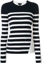 Rag & Bone striped crew neck jumper