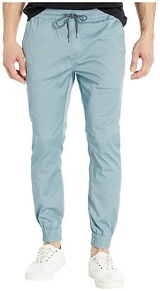Volcom Frickin Slim Jogger (Cool Blue) Men's Casual Pants