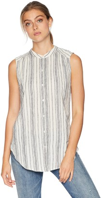 Lucky Brand Women's Stripe Tunic TOP