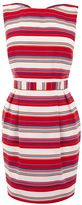 Women's Warehouse Stripe bow back dress