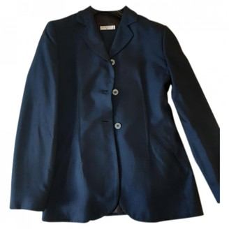 Philosophy di Alberta Ferretti Blue Jacket for Women