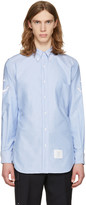 Thom Browne Blue Anchor Sleeve Classic Shirt