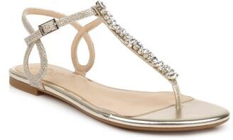 Badgley Mischka Natalie Embellished Sandal