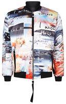 Blood Brother All-over Digital Print Bomber Jacket