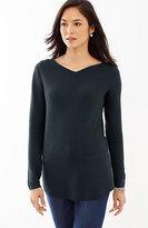 J. Jill High V-Neck Pullover