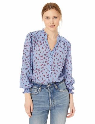 Parker Women's Sophie Long Sleeve Button Front Blouse
