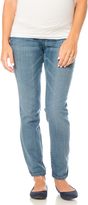 Motherhood Indigo Blue Petite Skinny Leg Maternity Jeans