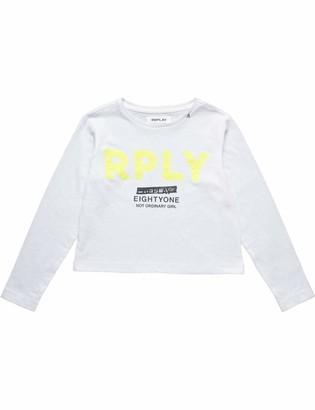 Replay Girl's Sg7131.052.22660g Long Sleeve Top