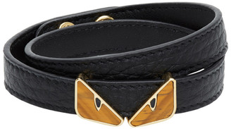 Fendi Gold Bag Bugs Tigers Eye Bracelet