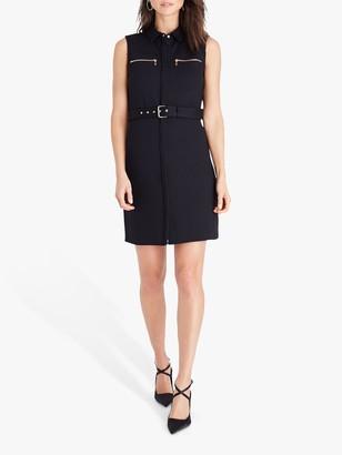 Damsel in a Dress Isidore Sleeveless Shirt Dress, Black