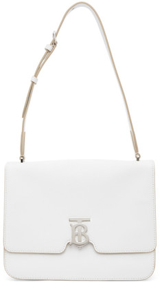 Burberry White Medium Alice Bag