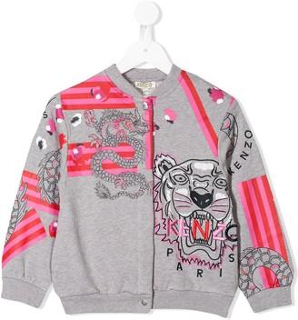 Kenzo Kids Logo Bomber Jacket