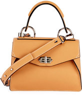 Proenza Schouler Hava Small Leather Top-Handle Satchel Bag, Toast
