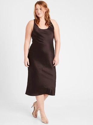 Banana Republic Heritage Bias-Cut Silk Dress