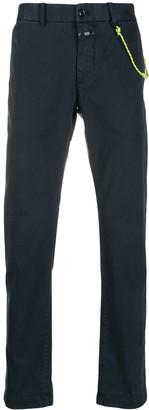 Closed straight-leg chino trousers