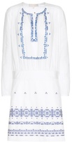 Vanessa Bruno Embroidered Cotton Dress