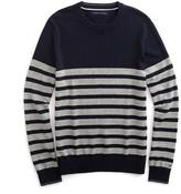 Tommy Hilfiger Stripe Crew Neck Sweater