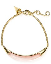 Alexis Bittar Lucite ID Curb Chain Bracelet