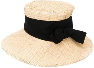 Ruslan Baginskiy Wide Brimmed Straw Hat