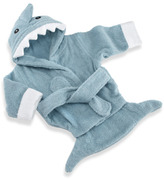 Baby Aspen Blue Terry Shark Robe