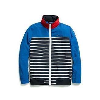Tommy Hilfiger Men's Adaptive Regatta Jacket with Magnetic Zipper