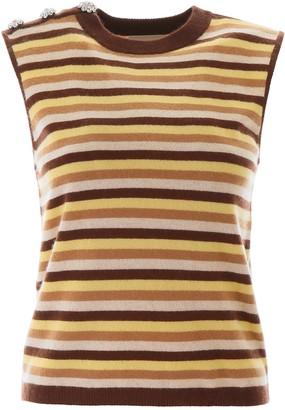 Ganni Striped Pullover Vest