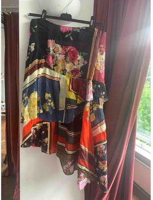 Preen Multicolour Silk Skirts