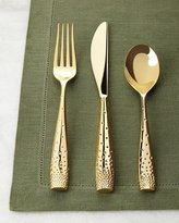 Nambe 5-Piece Golden Dazzle Flatware Place Setting