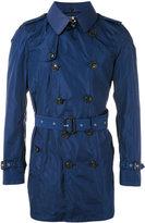 Burberry belted midi trenchcoat - men - Cotton/Lamb Skin/Polyamide - 48