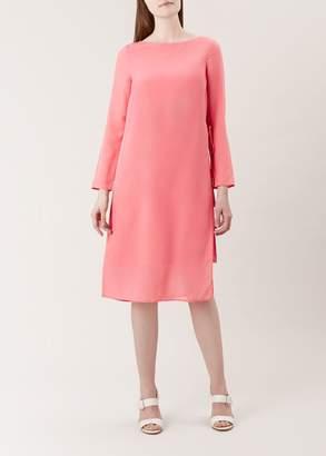 Hobbs Edie Silk Dress