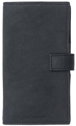Russell + Hazel Leather Phone Case+Wallet Black