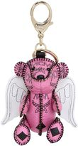 MCM Bear & Wings Faux Leather Bag Charm
