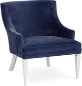 Jonathan Adler Haines Chair in Venice Mariner Velvet
